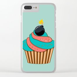 Cupcake Clear iPhone Case