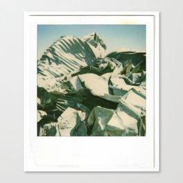 Metal Mountain Canvas Print