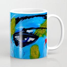 Red Lips Contemporary Art Coffee Mug