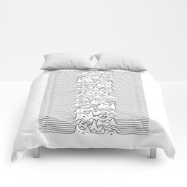 Furr Division White Comforters