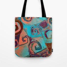 Square circles Tote Bag