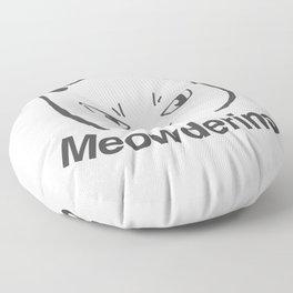 My Favorite Murder Meowderino Murderino Floor Pillow