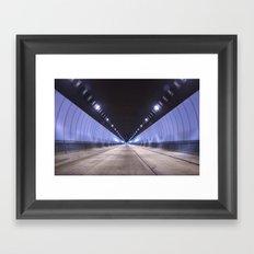 Adit Azure Framed Art Print