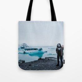 ALIENS IN ICELAND // Tote Bag