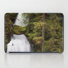 Curly Falls, Washington iPad Case