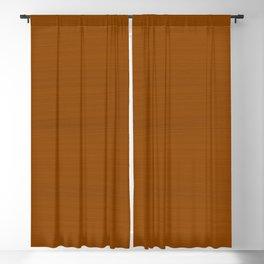 Bronze Mustard Brush Texture - Almost Solid Blackout Curtain