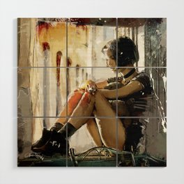 Mathilda - Leon the Professional Wood Wall Art