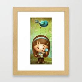 Bird Poop Framed Art Print