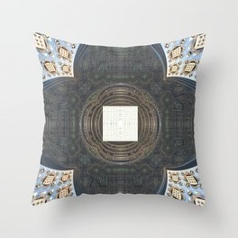 Under the Cupola Throw Pillow