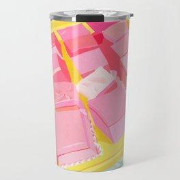 Pink Cakes Travel Mug