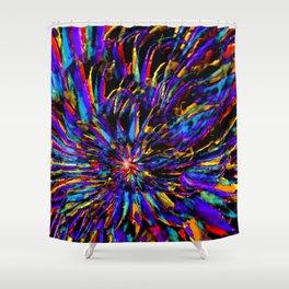 Mardi Gras - Celebration of Color Shower Curtain