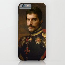 Freddy Mercury Classical Regal General Painting iPhone Case
