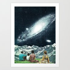 Family Picnic Art Print