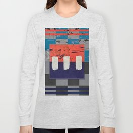 Stitch in Time - check Long Sleeve T-shirt