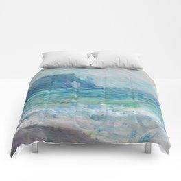 1886-Claude Monet-Regnvær, Etretat-60 x 73 Comforters