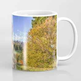 Allan Ramsey And Edinburgh Castle Coffee Mug