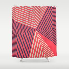 Geometric Design No1 Shower Curtain