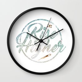 Rise Higher Shooting Star Wall Clock