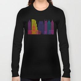 Atlanta V2 skyline pop Long Sleeve T-shirt