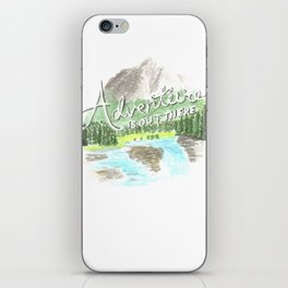 """""""Adventure is Out There!"""" - Up, Pixar iPhone Skin"""