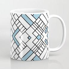 PS Grid 45 Sky Blue Mug