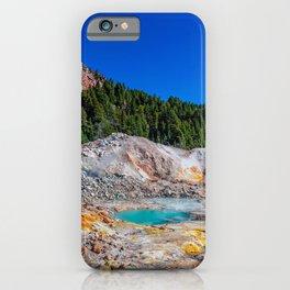Mount Lassen Bumpass Hell Geothermal Site iPhone Case