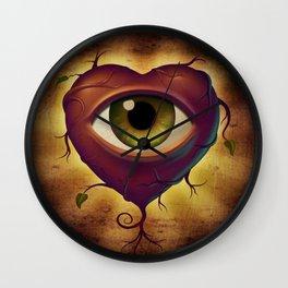 EyeHeart Wall Clock