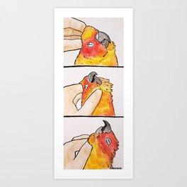 Bird no. 78: Bliss Art Print