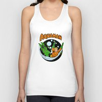 aquaman Tank Tops featuring aquaman by Craig Bostick