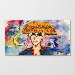 銀さんはスペースの侍 Canvas Print