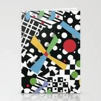 tape Stationery Cards featuring Ticker Tape by Patricia Shea Designs