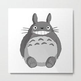 I Love Totoro Metal Print