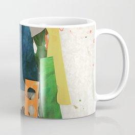Sunset Mountain Paper Pile Coffee Mug