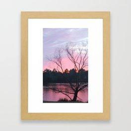 CAROLINA SUN SET Framed Art Print