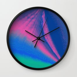 Gush and Wind Wall Clock
