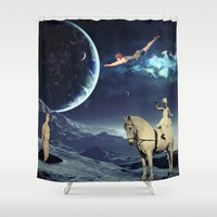 circus Shower Curtains featuring Circus by Cs025
