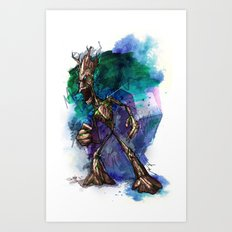 I AM G Art Print