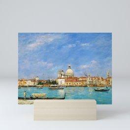 12,000pixel-500dpi - Eugene Louis Boudin - Venice, Santa Maria Della Salute From San Giorgio Mini Art Print