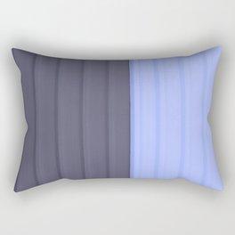 Pattern bluish Rectangular Pillow