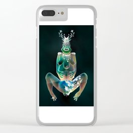 The Android – Dreams NO.4 Clear iPhone Case
