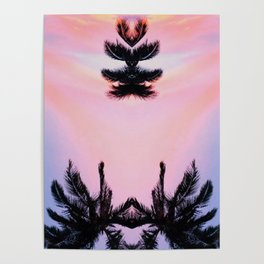Levitate #society6 #buyart #coconuttrees Poster