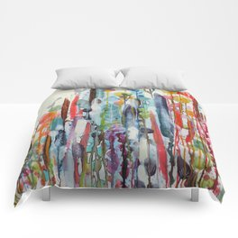 petit jardin 2 Comforters