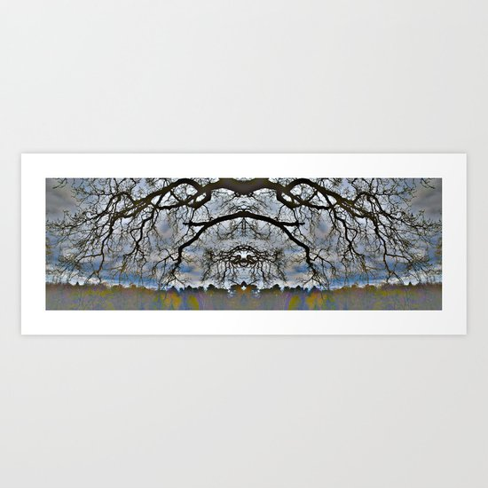 Treeflection VII Art Print