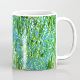 Forget Me Not green Coffee Mug