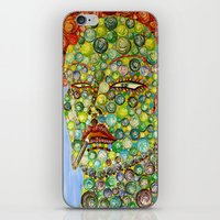 marylin monroe iPhone & iPod Skins featuring MARYLIN by ARTOFNOA
