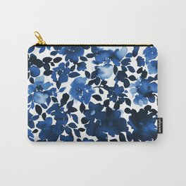 Sophia Floral Blue Carry-All Pouch