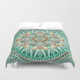 Sea Angel Kaleidoscope Duvet Cover