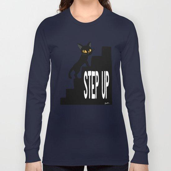 STEP UP Long Sleeve T-shirt
