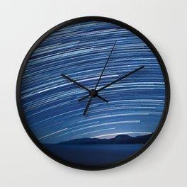 Underneath the Stars Wall Clock