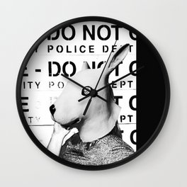 Land of No Rules Wall Clock